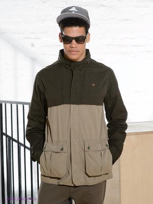 Куртка LRG. Цвет: хаки