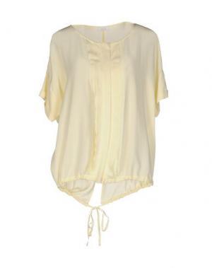 Pубашка GOLD CASE. Цвет: светло-желтый