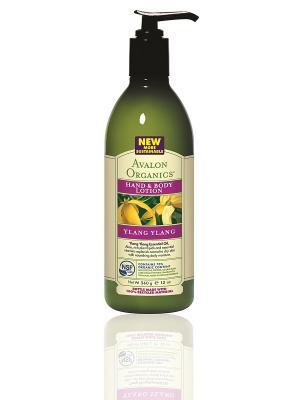 Лосьон для рук и тела с маслом Иланг-Иланг, 360 мл Avalon Organics. Цвет: белый