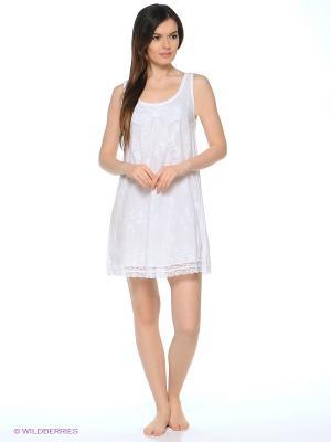 Сорочка Del Fiore. Цвет: белый