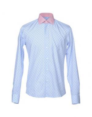 Pубашка HARRY & SONS. Цвет: небесно-голубой