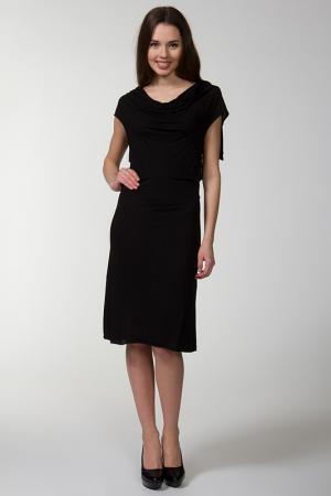 Платье Bird. Цвет: черный