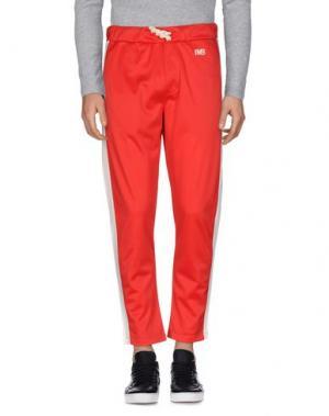 Повседневные брюки IMB I'M BRIAN. Цвет: красный