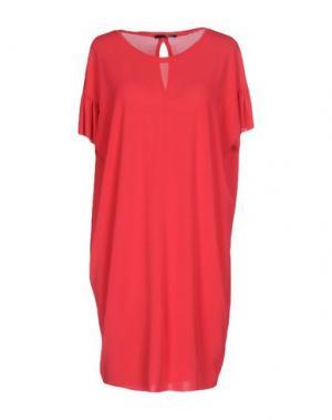Короткое платье B.YU. Цвет: фуксия