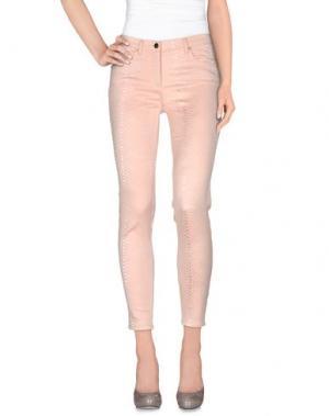 Повседневные брюки 22 MAGGIO by MARIA GRAZIA SEVERI. Цвет: розовый