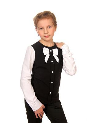 Блузка Enfant sage. Цвет: темно-синий