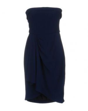 Короткое платье GAI MATTIOLO. Цвет: синий