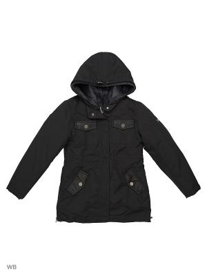 Куртка Fifty Four. Цвет: темно-серый