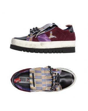 Низкие кеды и кроссовки YAB. Цвет: фиолетовый