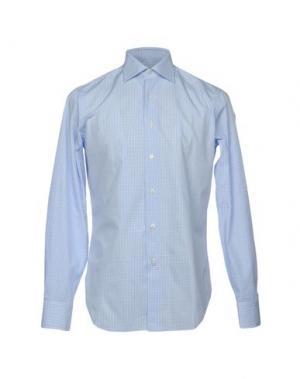 Pубашка GRIGIO PERLA. Цвет: небесно-голубой
