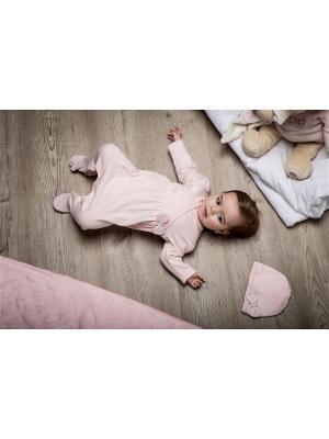Комплект нательный для малыша BABALUNO. Цвет: розовый
