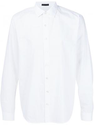 Классическая рубашка Atm Anthony Thomas Melillo. Цвет: белый