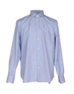 Pубашка GIAMPAOLO. Цвет: сиреневый