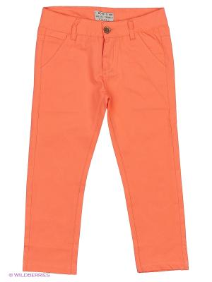 Брюки Bonito kids. Цвет: коралловый, оранжевый
