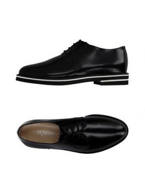 Обувь на шнурках PREZIOSO. Цвет: черный