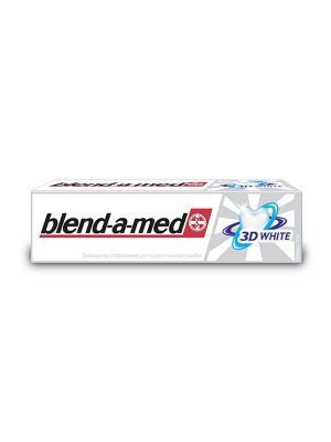 Зубная паста Blend-a-med 3D White, 150 мл BLEND_A_MED. Цвет: красный, синий