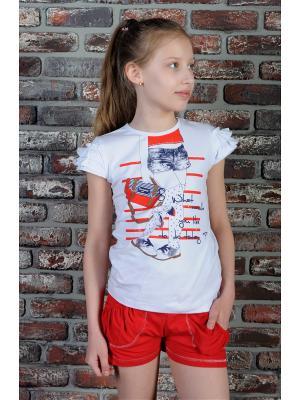 Комплект одежды ZEBRA KIDS. Цвет: белый