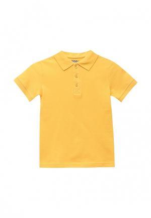 Поло Modis. Цвет: желтый