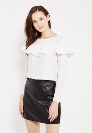 Блуза Naf. Цвет: белый