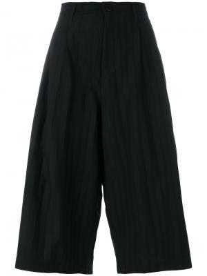 Короткие брюки Lux Y-3. Цвет: чёрный