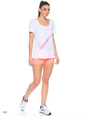Шорты NP CL 3 SHORT Nike. Цвет: бледно-розовый
