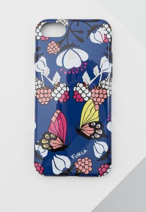 Чехол для iPhone Furla. Цвет: синий