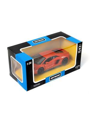 Машина металлическая Lamborghini Aventador LP 700-4 1:24. HOFFMANN. Цвет: красный