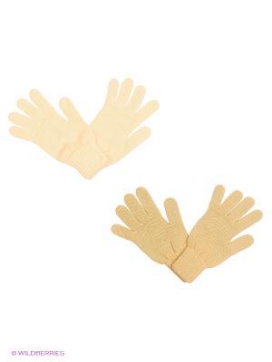 Перчатки FOMAS. Цвет: бежевый, персиковый