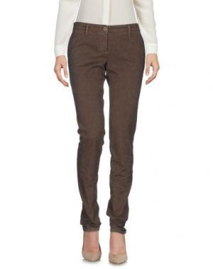 Повседневные брюки UZÈS. Цвет: хаки
