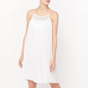 Сорочка ночная LOVE JOSEPHINE. Цвет: белый