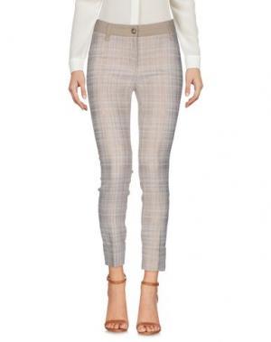 Повседневные брюки VIA MASINI 80. Цвет: бежевый