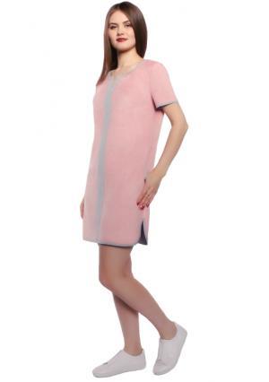 Платье Rise. Цвет: розовый (пыльная роза)
