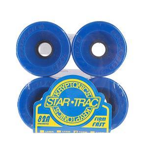 Колеса для скейтборда лонгборда  Star Trac Premium Blue 82A 70mm Kryptonics. Цвет: синий