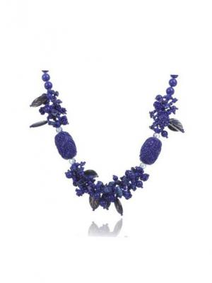 Ожерелье NeKi. Цвет: синий