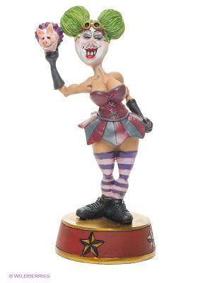 Фигурка Дама Клоун The Comical World of Stratford. Цвет: красный, зеленый, золотистый, черный