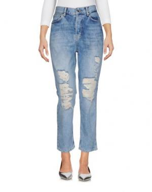 Джинсовые брюки SH by SILVIAN HEACH. Цвет: синий