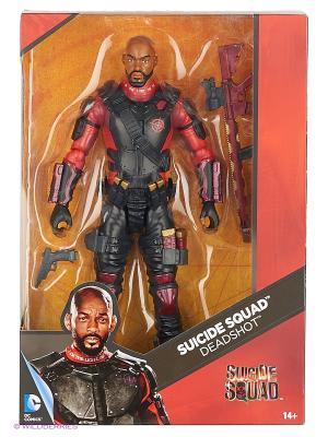 Премиальная фигурка Deadshot. Дедшот Mattel. Цвет: красный, черный
