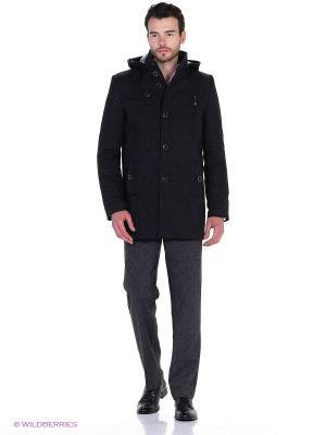 Пальто Sainy. Цвет: серый, темно-синий