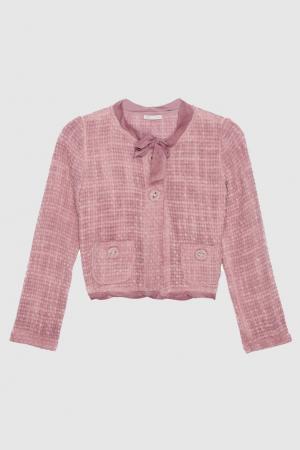Жакет Liu Jo. Цвет: розовый