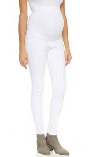 Джинсы-скинни для беременных Twiggy James Jeans. Цвет: морозный белый