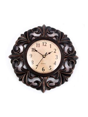 Часы настенные Русские подарки. Цвет: черный, кремовый
