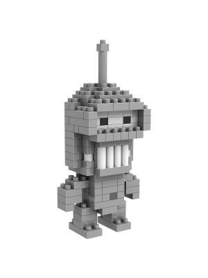 Конструктор Робот Бендер Loz. Цвет: белый