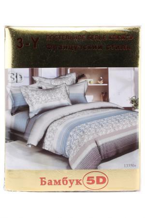 Постельное белье 2 сп. 70x70 Французский стиль. Цвет: мультиколор