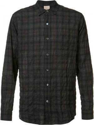 Рубашка Frank  с мятым эффектом Baldwin. Цвет: серый