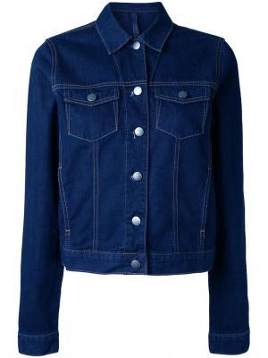 Куртка Original Pure Nobody Denim. Цвет: синий