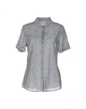 Pубашка ZANETTI 1965. Цвет: светло-серый