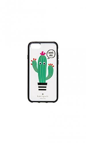 Чехол для iphone 7 hug me kate spade new york. Цвет: зеленый