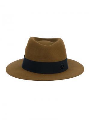 Шляпа Andre Maison Michel. Цвет: жёлтый и оранжевый