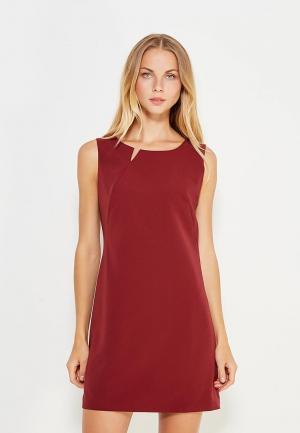 Платье Nife. Цвет: бордовый