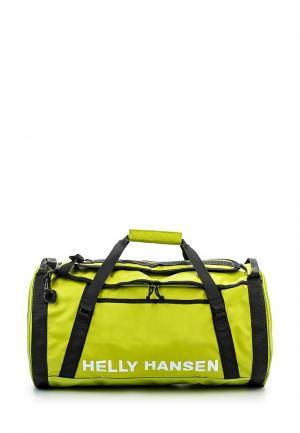 Сумка спортивная Helly Hansen. Цвет: зеленый